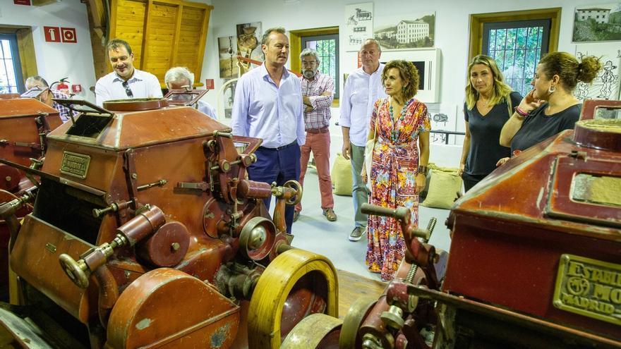 El Gobierno destaca la contribución del centro de visitantes'Caminos de la harina' al crecimiento económico de Pesquera
