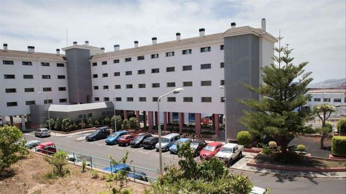 Imagen de archivo de la Residencia de Pensionistas de Santa Cruz de La Palma.