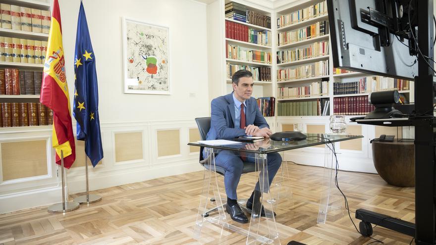 Sánchez admite su preocupación por los riesgos de la desescalada: hay que evitar rebrotes como en Singapur