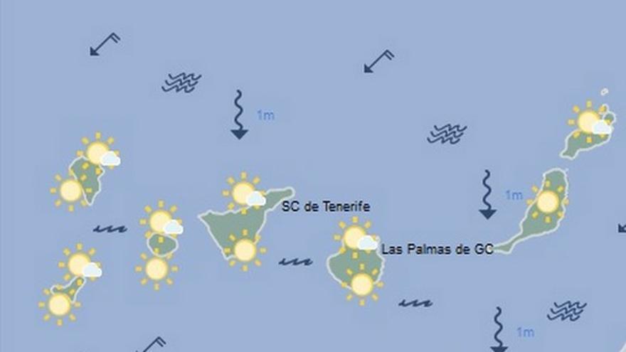 Mapa de la Aemet para el martes 30 de agosto