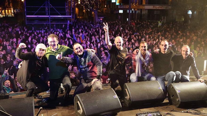 Celtas Cortos participará en el XXV Festival Sauga Folk Colindres.    JOSÉ LUIS LUNA