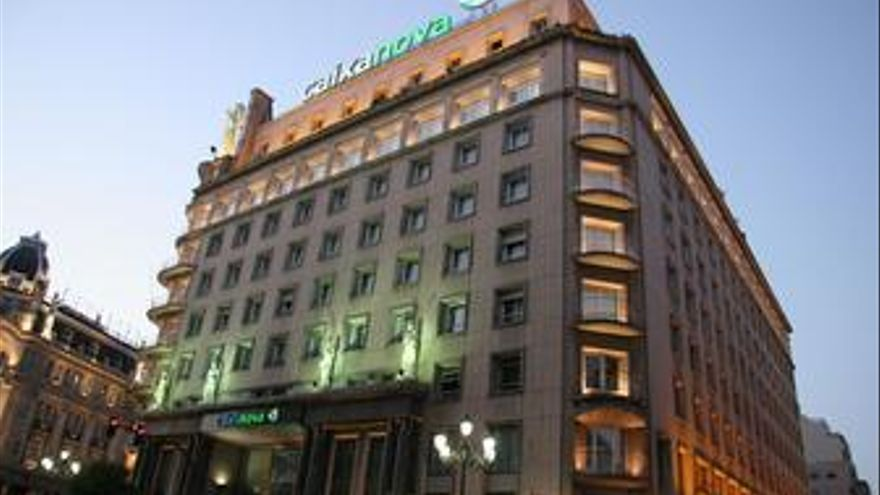 Edificio de Caixanova en Pontevedra