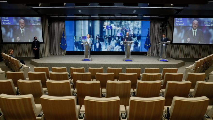 Los países de la UE presionan a Bruselas para aprobar rápido los planes de recuperación