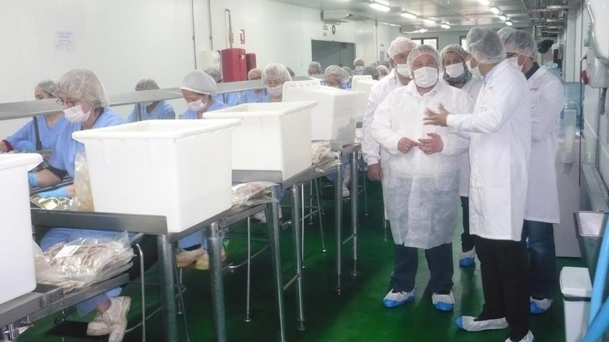 Ciudadanos muestra su apoyo a la industria conservera