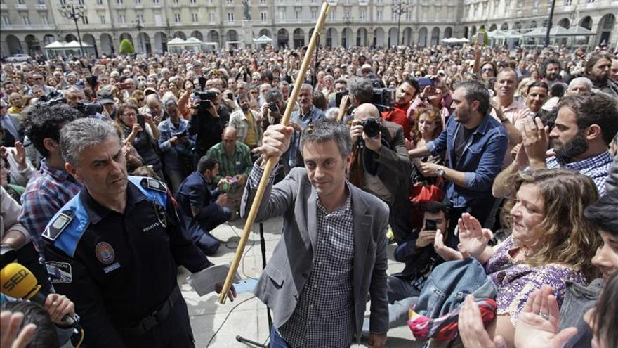Xulio Ferreiro, proclamado alcalde de A Coruña con el apoyo de PSOE y BNG