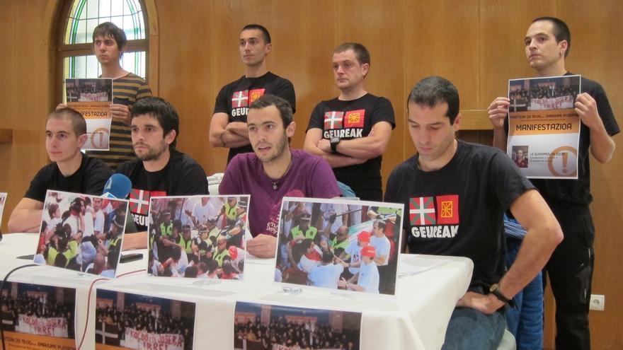 Condenados por los altercados de los Sanfermines de 2010 se manifestarán para rechazar la sentencia del Tribunal Supremo