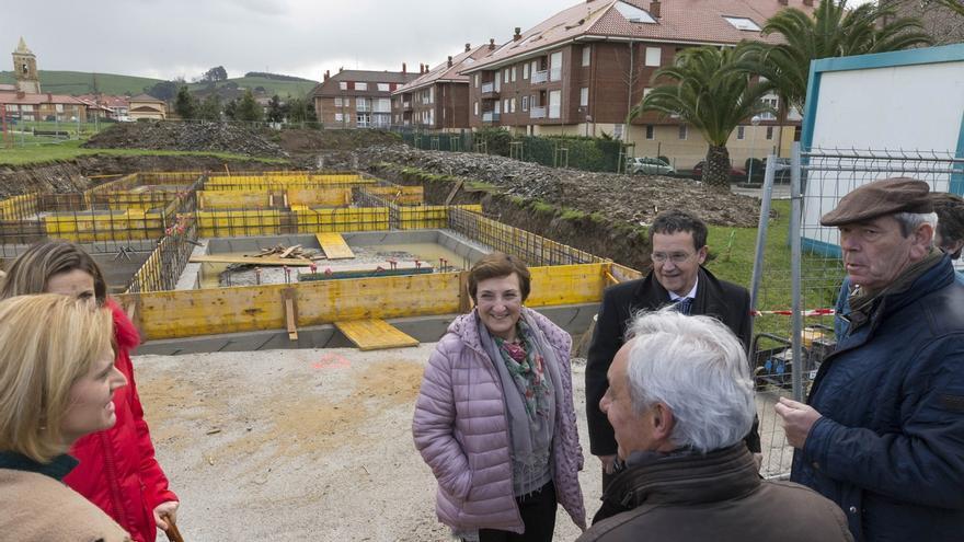 Las obras del nuevo consultorio médico de Ajo terminarán en verano, tras una inversión de 245.630 euros