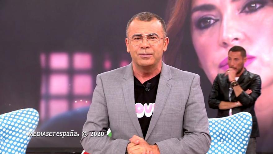 Jorge Javier Vázquez en el final de 'Sálvame'
