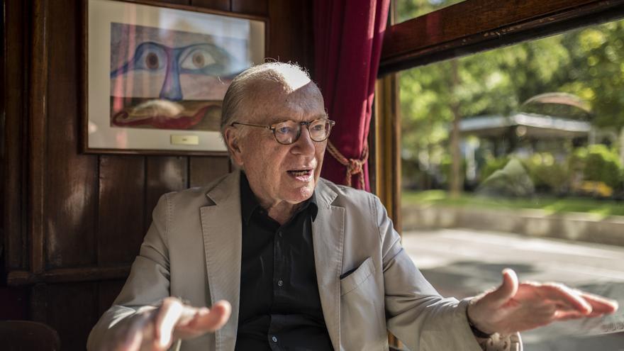 Nicolás Sartorius, cofundador de Comisiones Obreras y miembro de la Fundación Alternativas