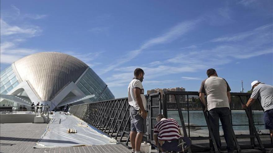 Valencia se viste de gala para acoger una superproducción de Disney