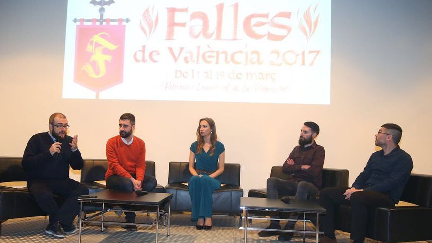 El Muvim ha acogido la presentación de los carteles de Fallas 2017