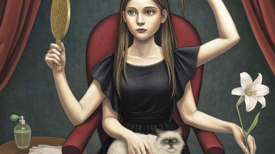 Ilustración de portada de 'Fantastic Short Stories by Women Authors form Spain and Latin America'