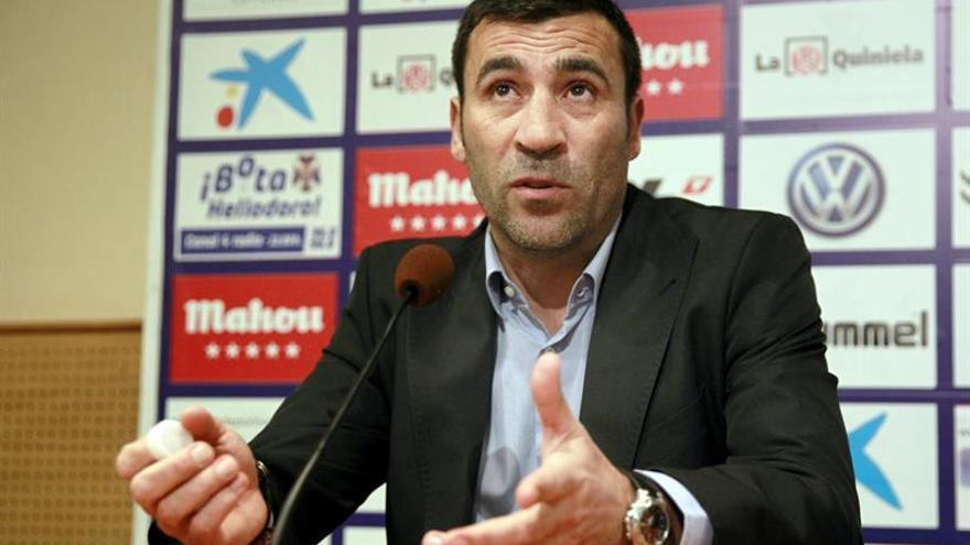 El entrenador del CD Tenerife, Raúl Agné