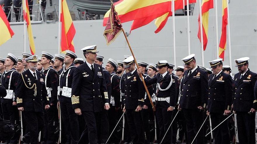 Felipe VI visita el Arsenal de Ferrol por el Día del Veterano de las Fuerzas