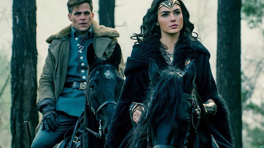 Fotograma de la película Wonder Woman.