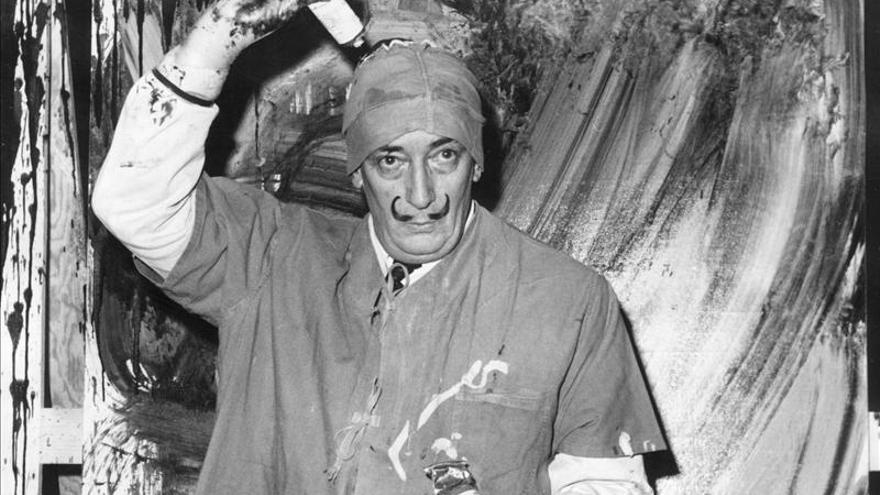 A subasta en Londres catorce cuadros nunca vistos de Salvador Dalí