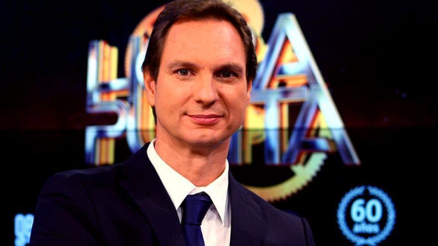 El presentador Javier Cárdenas