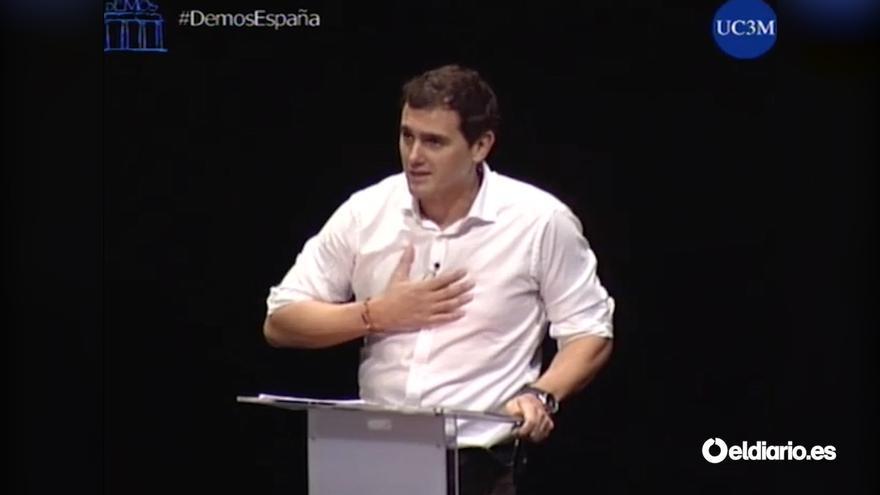 Albert Rivera asegura no conocer la obra de Kant durante el debate #DemosEspaña