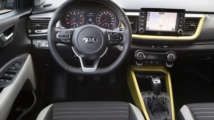 Interior del Kia Stonic.