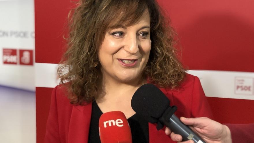 """Iratxe García critica que se pacte con la """"extrema derecha"""" para """"aislar"""" al PSOE a diferencia de lo que ocurre en la UE"""