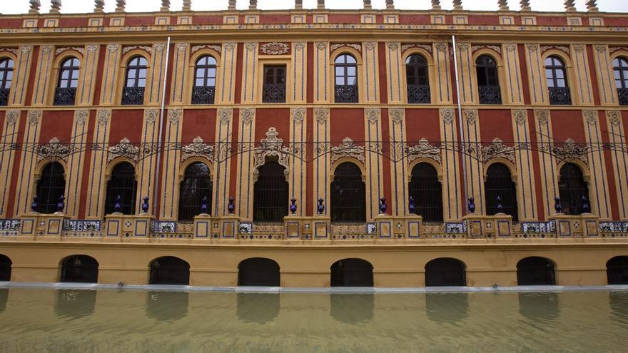 Fachada interior del Palacio de San Telmo, sede del Gobierno andaluz