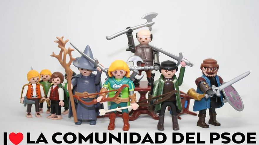 I love la comunidad del PSOE