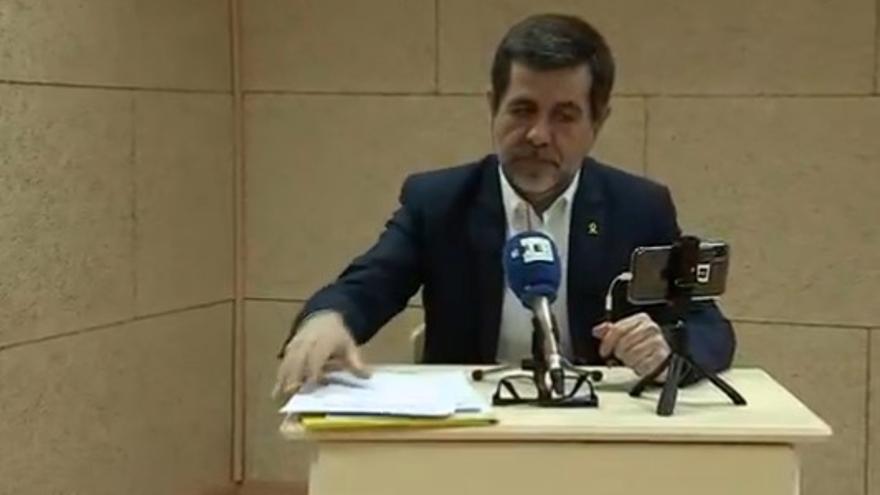 Jordi Sànchez (JxCat) reitera desde la prisión que la condición para la investidura será una mesa de diálogo donde no se vete el referéndum como opción