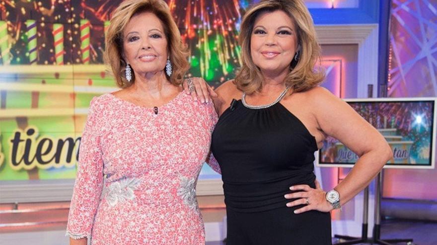 """Terelu avanza """"tensiones"""" con su madre en el reality que """"llega en breve"""" a Telecinco"""