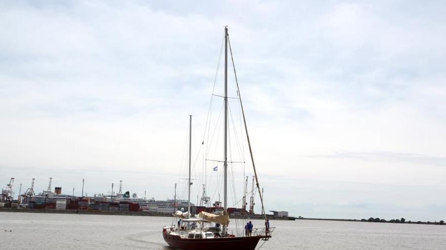 El velero Pros recala de nuevo en Chile tras los pasos de Magallanes y Elcano