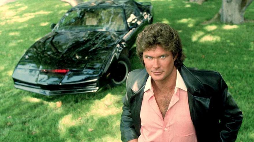 David Hasselhoff en 'El coche fantástico'