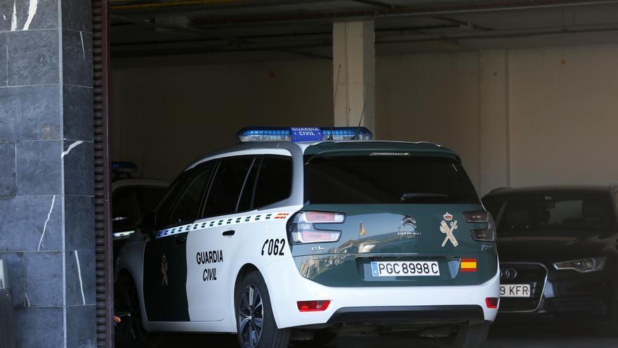 Archivo - Un coche de la Guardia Civil