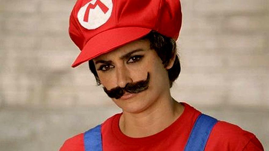 ¿Super Mario Bros? No, Penélope Cruz en televisión