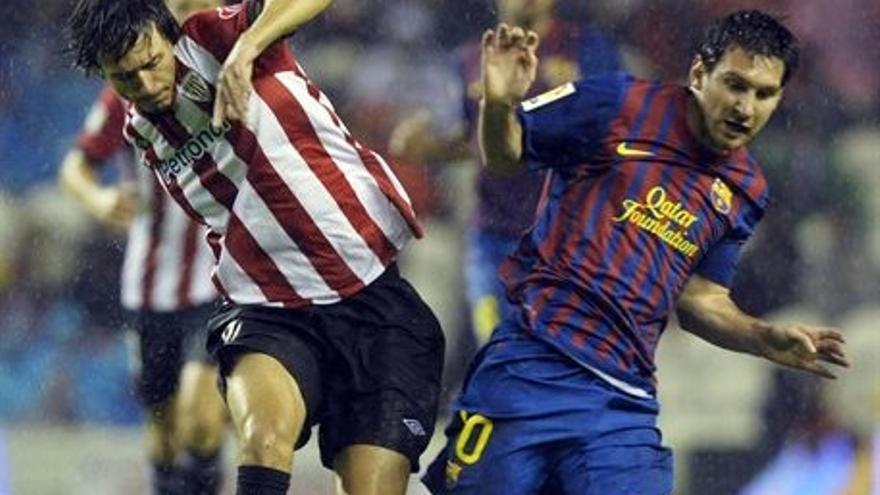 Imagen de un encuentro entre el Barcelona y el Athletic (EUROPA PRESS).