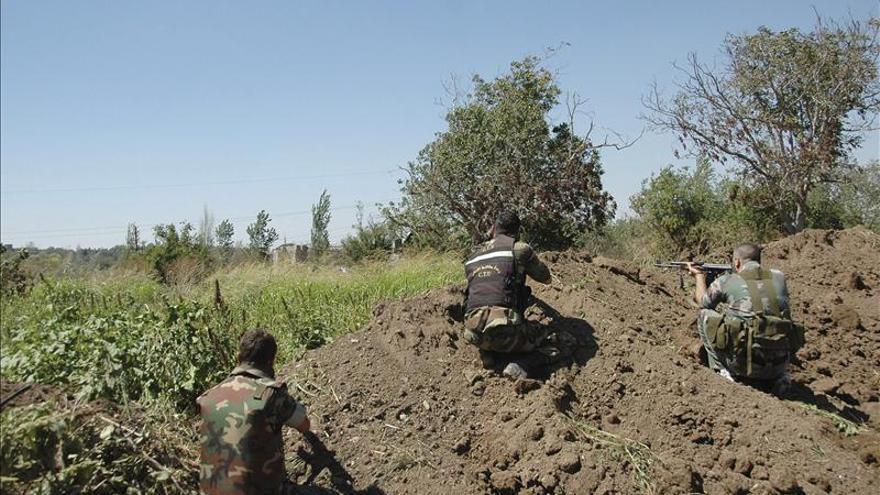 Los rebeldes sirios anuncian la toma del aeropuerto militar de Meneg