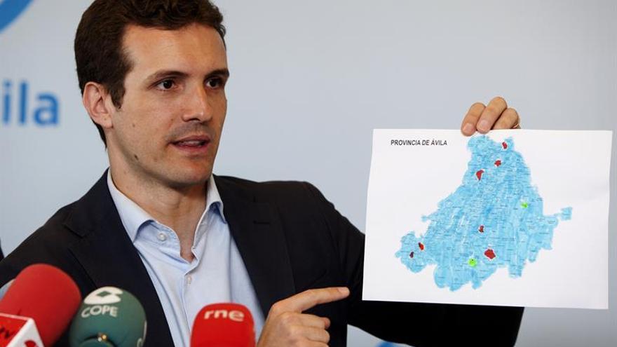 Casado (PP): Sánchez y Rivera pueden exigir menos a Rajoy que en diciembre