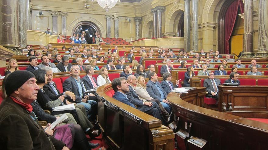 El ple del Parlament a la seva última sessió