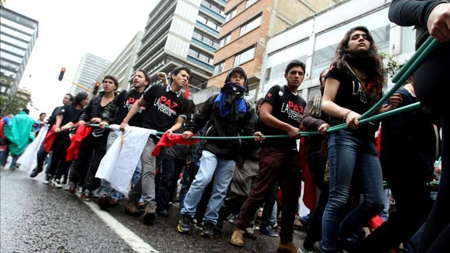 La celebración del Día del Trabajo deja más de 100 retenidos en Colombia