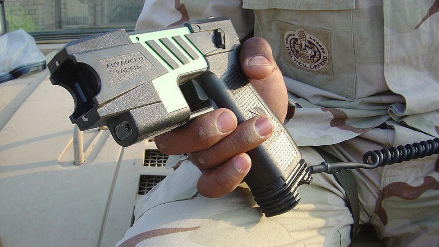 M26 TASER. Pistola Taser