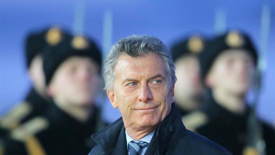Macri llega a Moscú para reunirse con Putin y buscar inversiones