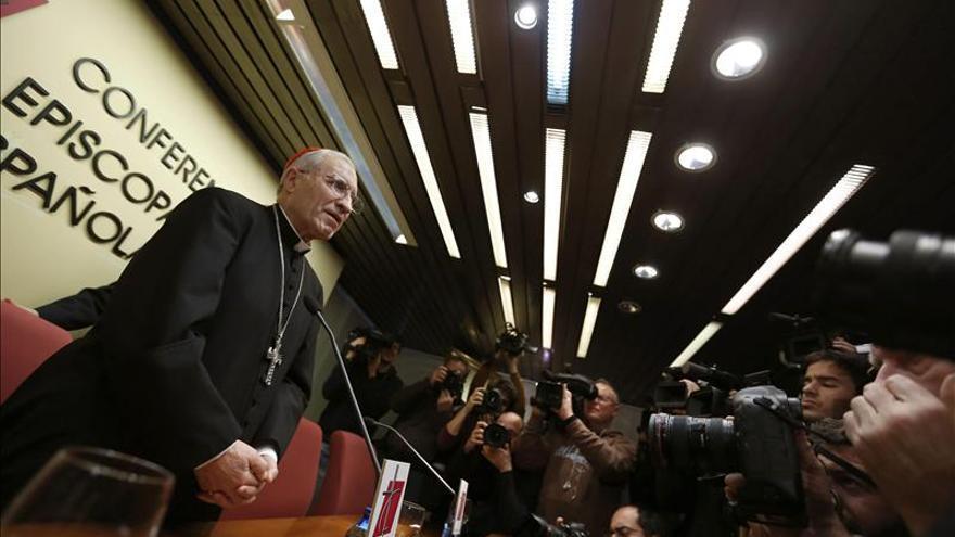 Antonio María Rouco Varela, al frente de los obispos en España.