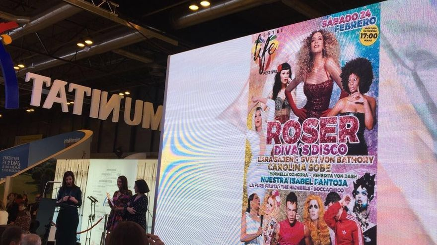Presentación del festival LGTBI de Alicante.