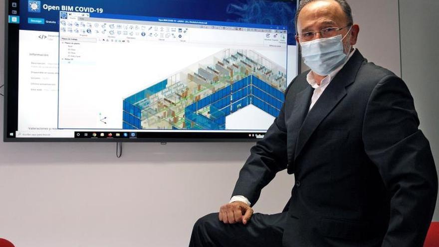 Desarrollan un software para la prevención en los edificios ante la COVID-19