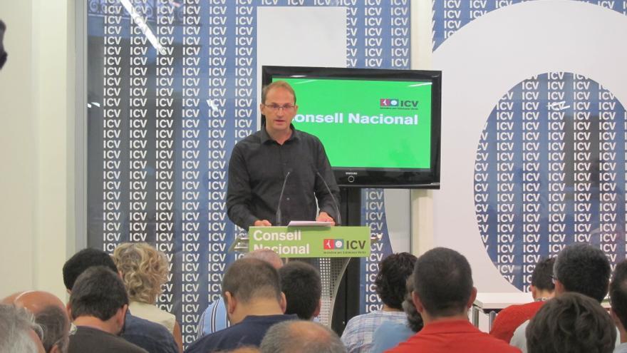 ICV propone una nueva relación federal, confederal o independiente de Cataluña con España