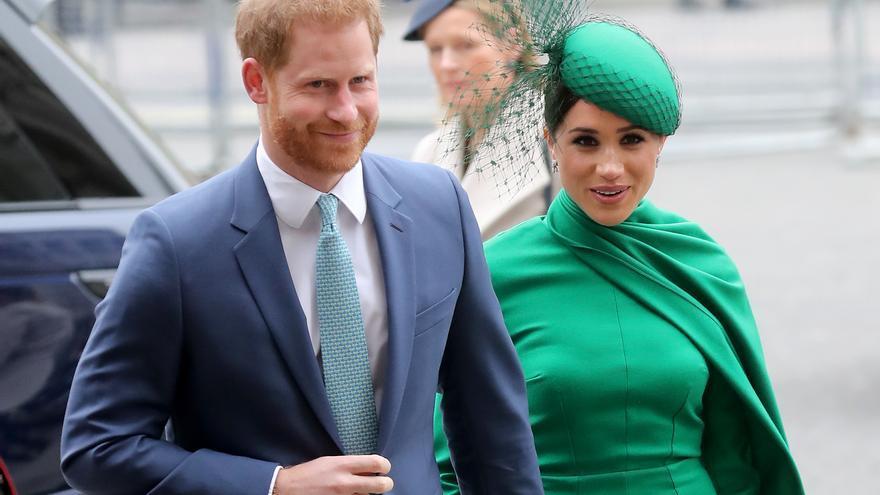 El príncipe Enrique y su esposa Meghan Markle, duques de Sussex