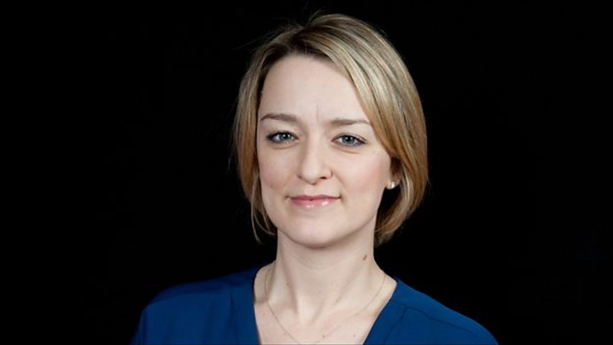 Laura Kuenssberg, jefa de política de BBC News.
