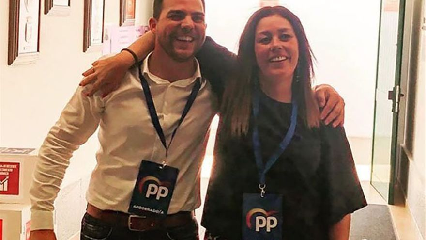 Jacobo Medina y Astrid Pérez, el pasado 26 de mayo.