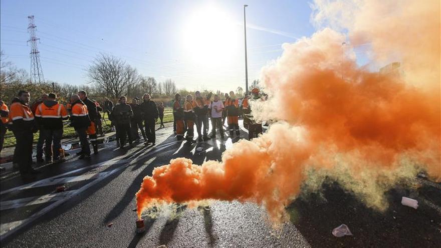 Importantes perturbaciones en la primera jornada de huelgas regionales belgas