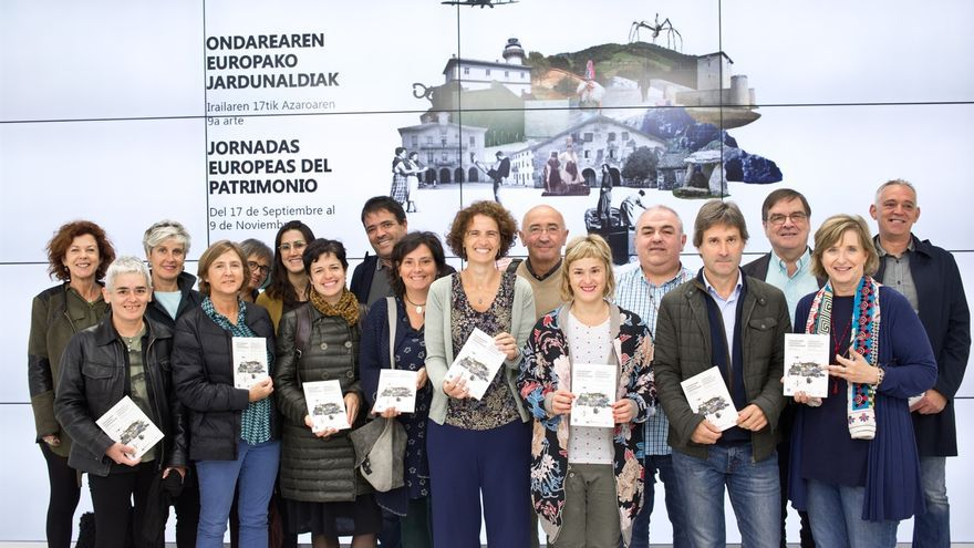 """Más de un centenar de actividades en 40 municipios darán conocer """"de otra forma"""" el patrimonio y el paisaje de Gipuzkoa"""