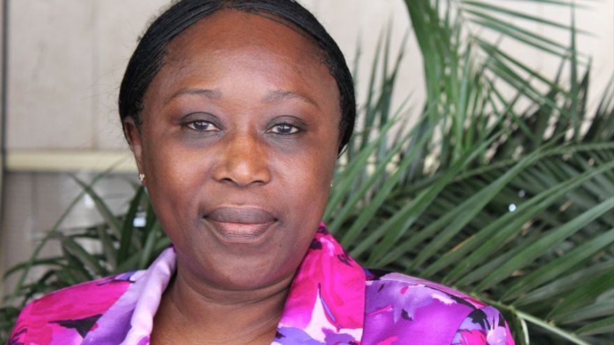 Béatrice Epaye, miembro del Comité Nacional de Transición de la República Centroafricana. (Lydia Molina)