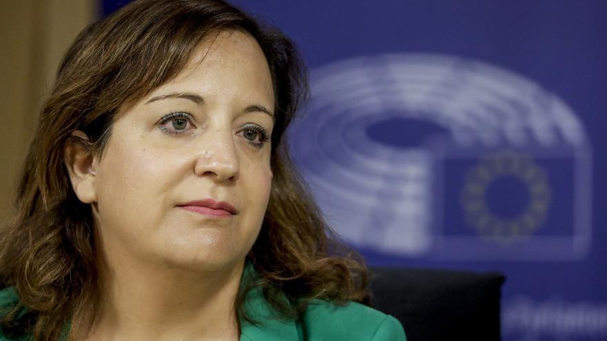 La presidenta de los socialistas europeos en la Eurocámara, Iratxe García.